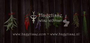 Omslag hagetisse wise woman